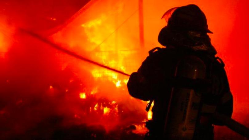 Incendiu de proporţii în regiunea Kurgan: Mai multe vile, cuprinse de flăcări