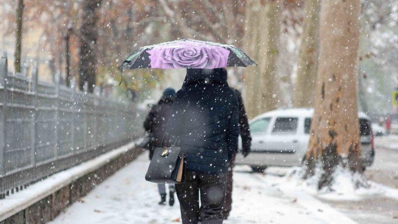 Meteo 11 ianuarie 2021: Vine frigul. Zonele în care vor cădea ninsori