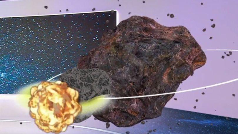 Premieră mondială: NASA atacă un asteroid ce ameninţă să lovească Terra