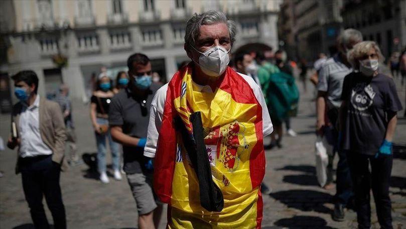 Coronavirus: Record în Spania cu circa 39.000 de noi cazuri în 24 de ore
