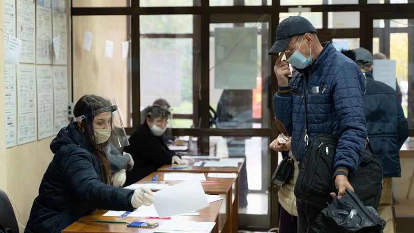 Numărul alegătorilor din R. Moldova și distribuția acestora pe raioane