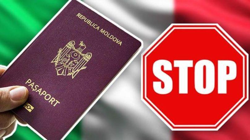 Italia și-a închis granița pentru cetățenii R. Moldova