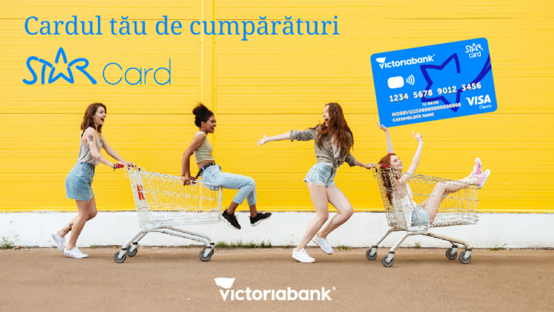 Star Card: Cardul tău de cumpărături de la Victoriabank (P)