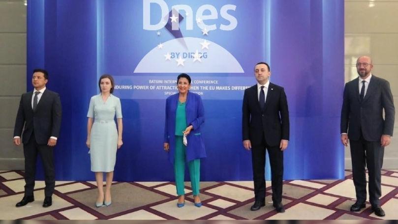 Presa bulgară scrie despre Trio-ul asociat Moldova, Georgia și Ucraina
