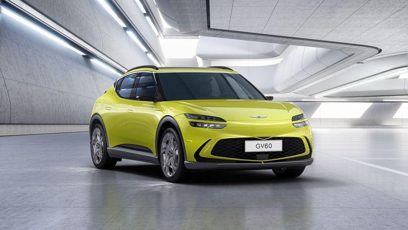Premieră mondială: Noul Genesis GV60. Va ajunge și pe piața europeană