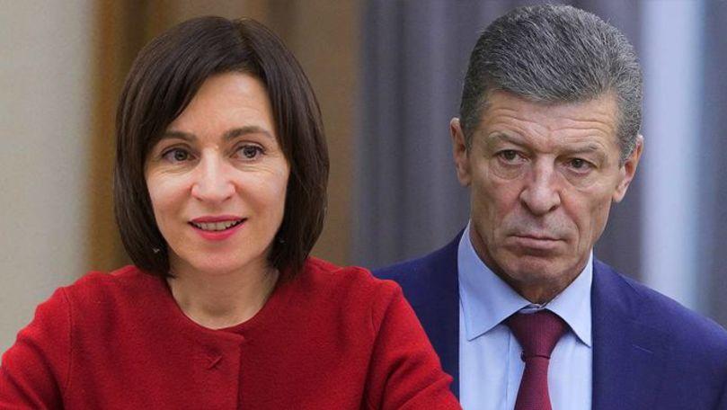 Se va întâlni sau nu Maia Sandu cu Dmitrii Kozak? Răspunsul președintei