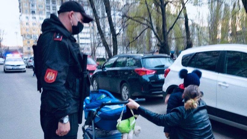Alertă 112: Copil rătăcit pe străzile din Bălți, găsit de carabinieri