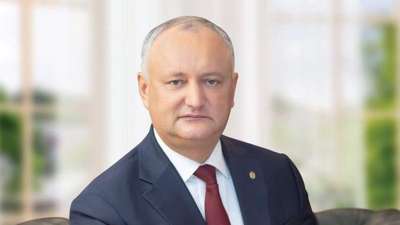 Dodon: A venit timpul ca Moldova să opteze pentru pace și stabilitate