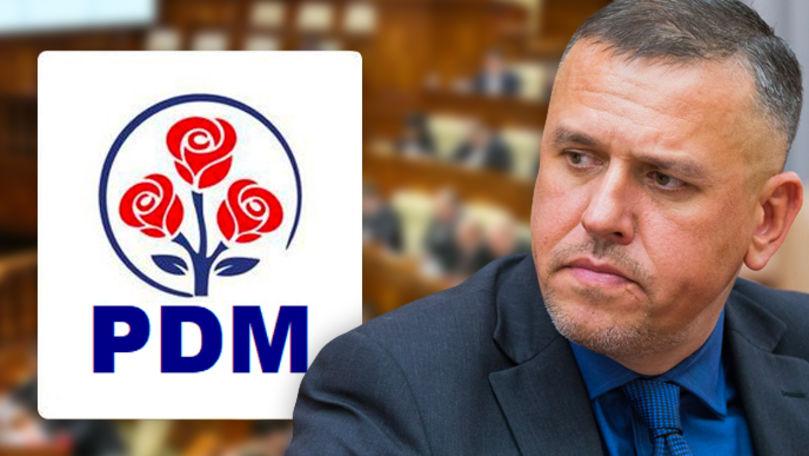 Partidul Democrat ia apărarea și condamnă reținerea lui Alexandru Pînzari