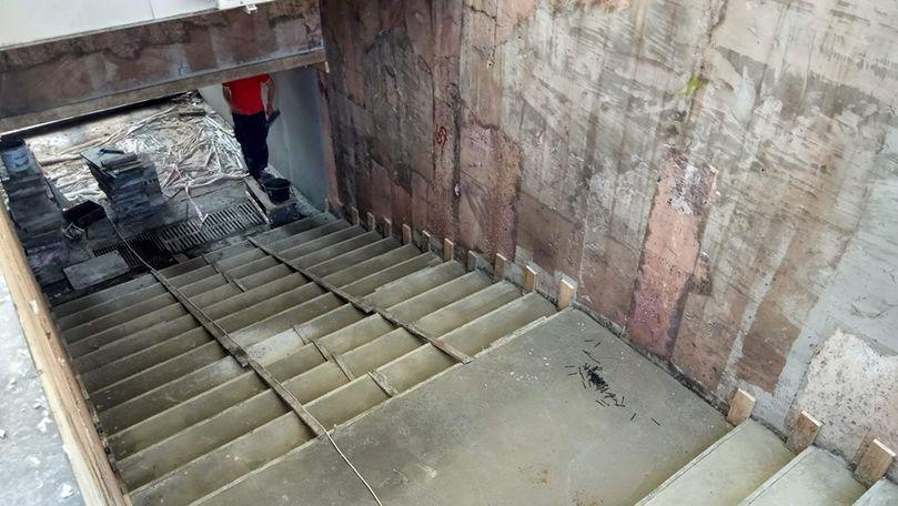 Pasaj subteran din Chișinău, reparat de mântuială. Reacția Primăriei
