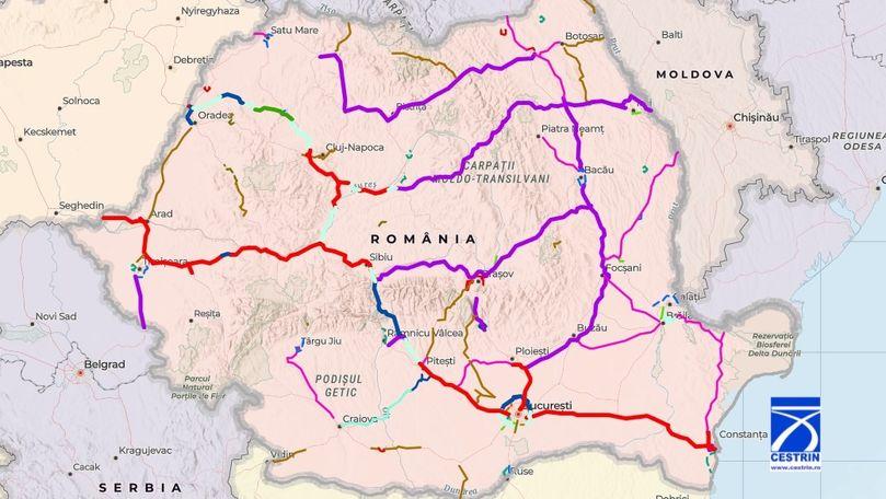 Niciun km de autostradă nu va fi predat până în 2025 în regiunea Moldovei