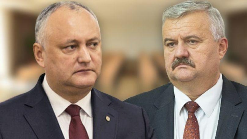 Dodon, despre criticile lui Șarov: Dacă aș dori, mâine ar fi demis