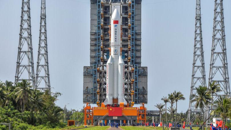 Alertă: Bucățile unei rachete ar putea cădea necontrolat în zone locuite