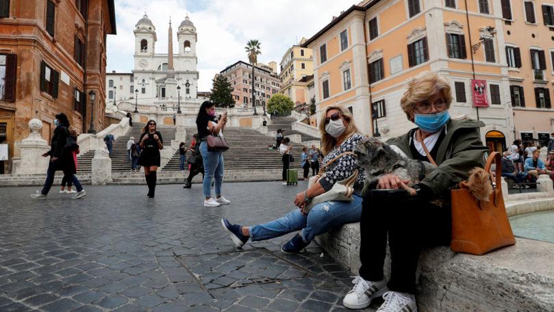 Italia se va redeschide treptat la sfârșit de aprilie: Optimism prudent