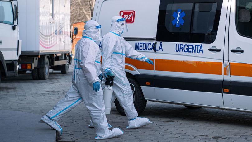 Numărul lucrătorilor medicali noi infectați, în scădere: 7 cazuri în 24 de ore