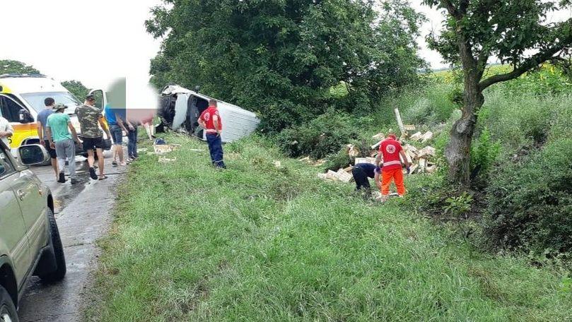 Grav accident cu implicarea unui microbuz la Căușeni: Un mort