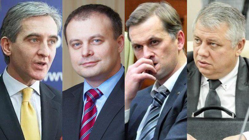 Slusari solicită urmărirea penală a lui Leancă, Drăguțanu, Candu și Arapu