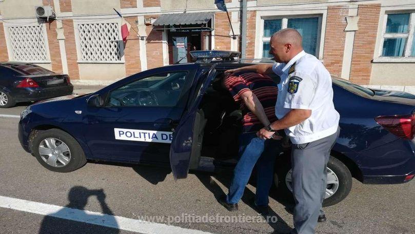 Un moldovean căutat de Interpol, reținut la frontiera română