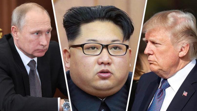 Putin spune că Trump nu-l convinge pe Kim să lase arma nucleară