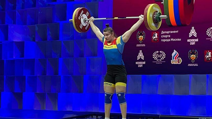 Moldoveanca Elena Cîlcic a cucerit 3 medalii la Europenele de la Moscova