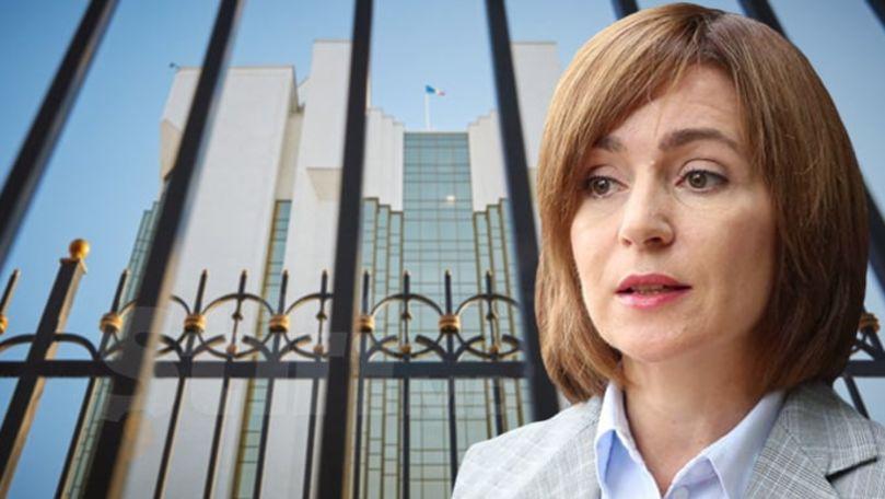 Ce spune Maia Sandu despre ideea de a demonta gardul de la Președinție