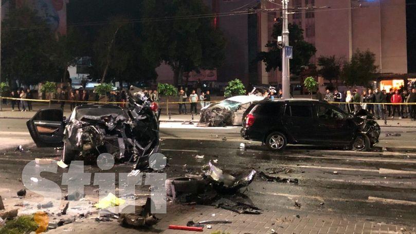 Cine sunt cele două persoane care au murit în accidentul din Chișinău