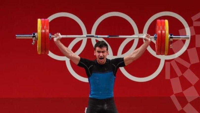 Halterofilul moldovean Marin Robu a ocupat locul 8 la Jocurile Olimpice