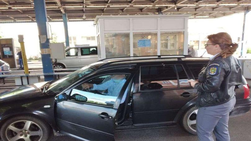 Încă un moldovean prins la frontiera română cu un document fals