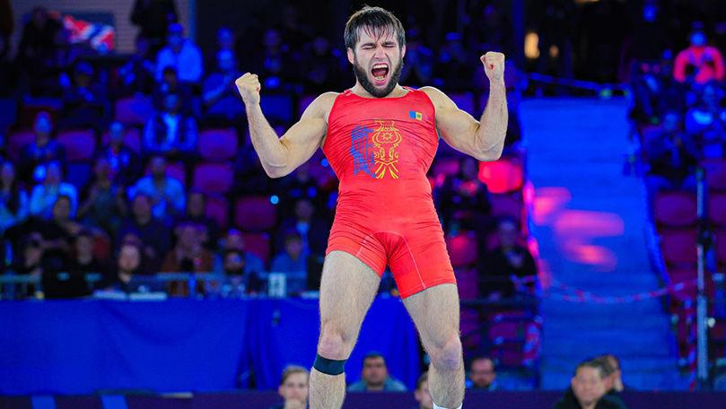 Luptătorul moldovean Victor Ciobanu a devenit campion mondial