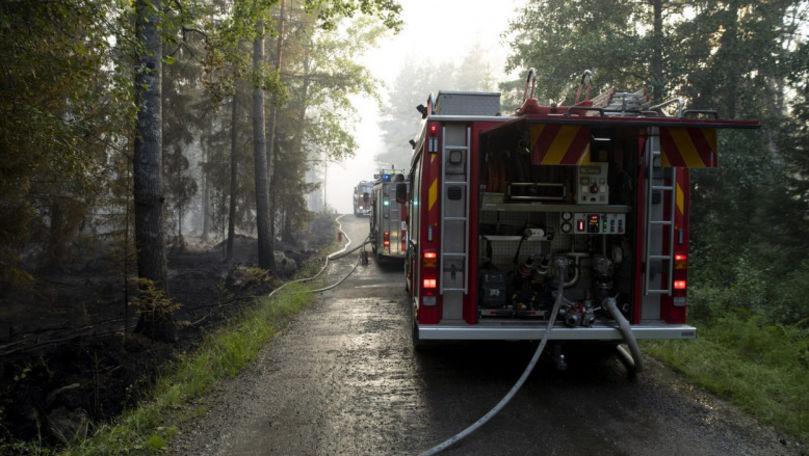 Finlanda, cel mai grav incendiu de vegetaţie din ultimii peste 50 de ani