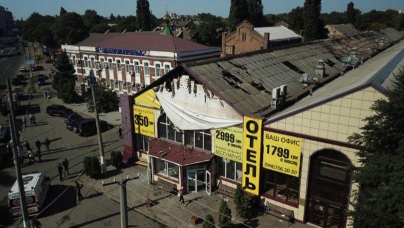 Incendiu într-un hotel din Odesa: Numărul victimelor a crescut