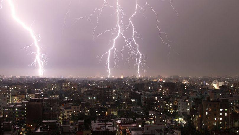 Meteo 5 iulie 2021: Ploi cu fulgere în toată țara și maxime de +27°C
