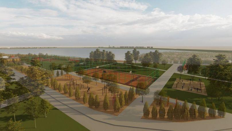Un teren părăsit din preajma lacului Valea Morilor va fi reabilitat