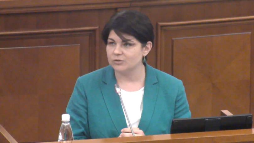 Natalia Gavrilița și candidații ei, invitați să se prezinte la Parlament