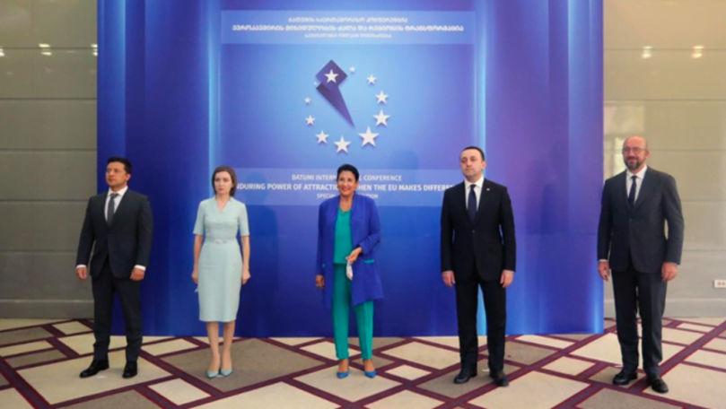 Președinții Georgiei, Moldovei și Ucrainei au semnat Trio Asociat