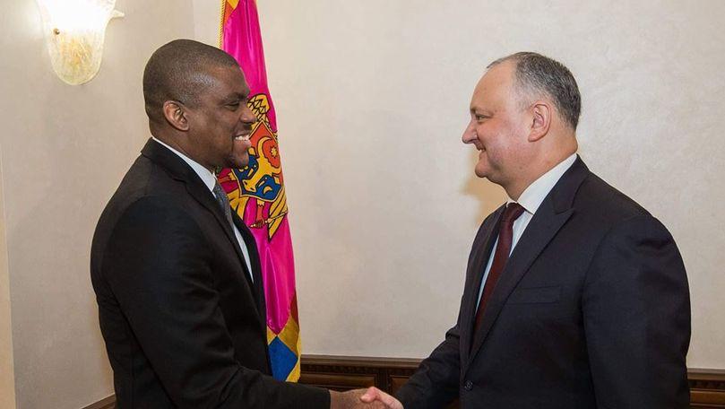 Igor Dodon s-a întâlnit din nou cu ambasadorul SUA în Moldova. Ce au discutat