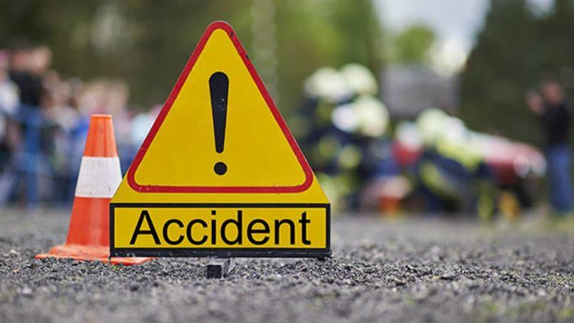 Accident la Șoldănești: Un copil s-a izbit cu bicicleta într-un vehicul