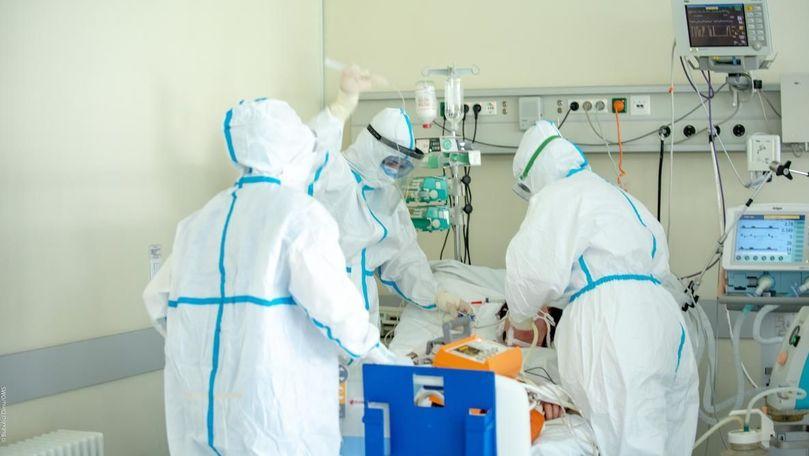 Circa 18.500 de infectați în R. Moldova: Câți pacienți rămân intubați