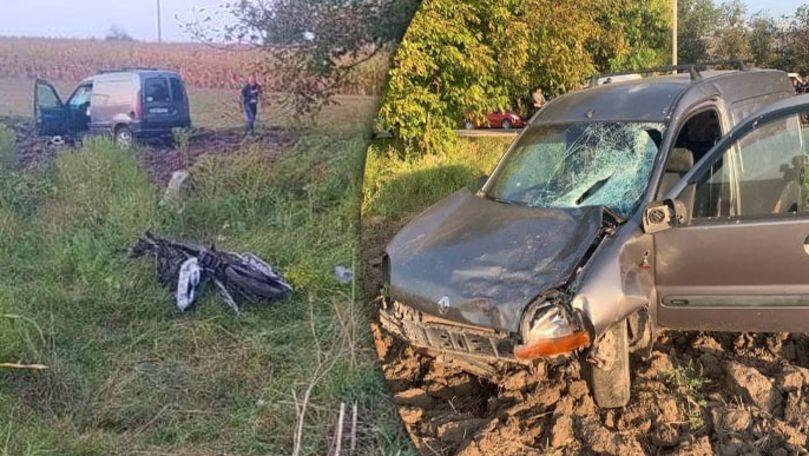 Accident tragic la Anenii Noi: Minor pe motocicletă, tamponat de un șofer beat