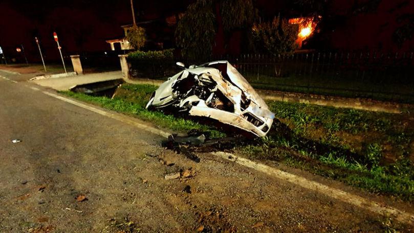 Un șofer moldovean, implicat într-un teribil accident în Italia