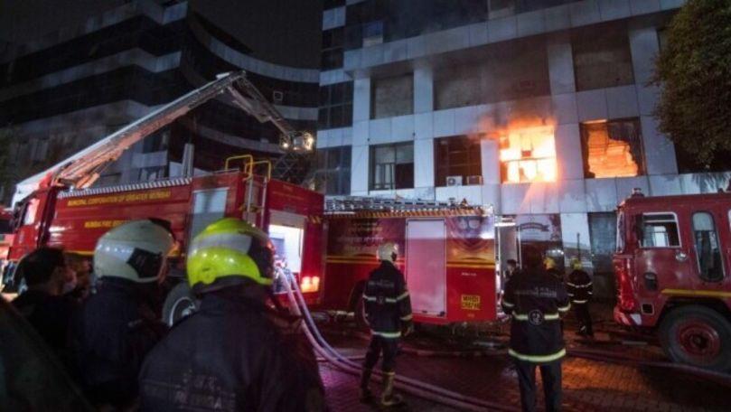 Incendiu la un spital COVID din India: Cel puţin 18 persoane au murit