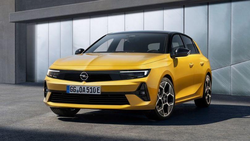 Opel Astra va primi o versiune 100% electrică în 2023