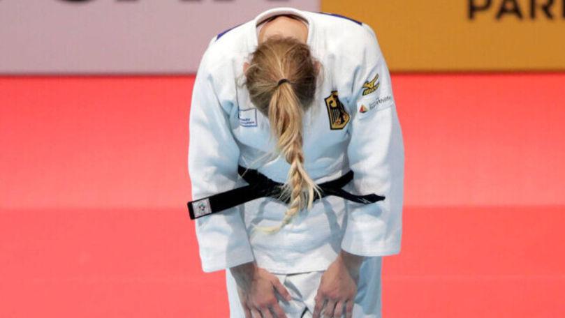 Sportivă de la Jocurile Olimpice, încurajată violent de antrenorul ei