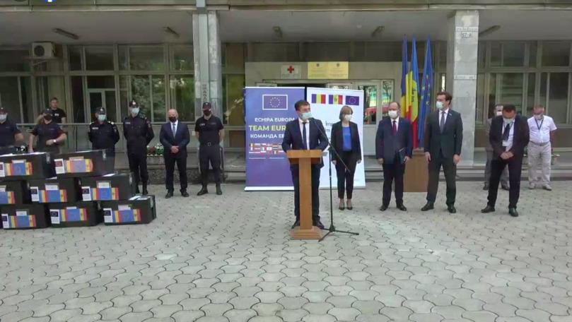 Lotul cu 100.000 de doze Pfizer donate de România a ajuns la Chișinău