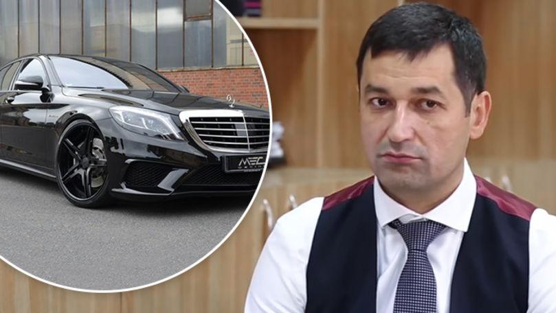 Fostul judecător Oleg Sternioală, surprins cu o mașină de milioane
