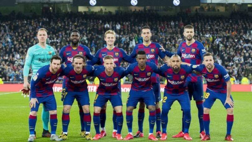 FC Barcelona și-a prezentat echipamentul pentru noul sezon