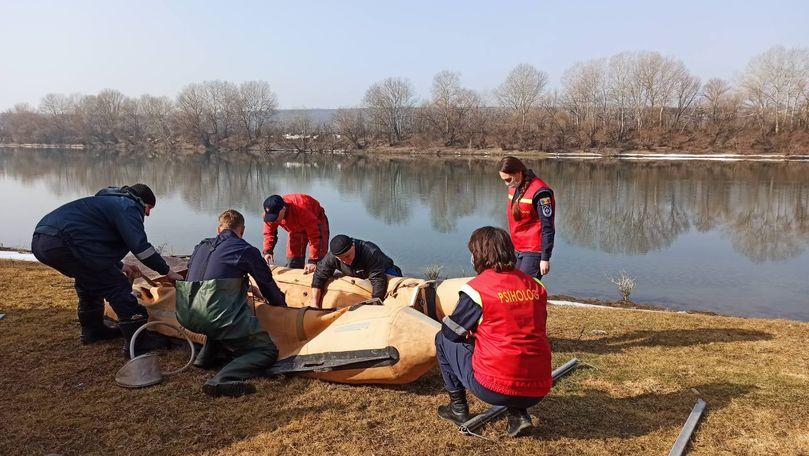Salvatorii continuă lucrările de căutare a minorei dispărute în Nistru