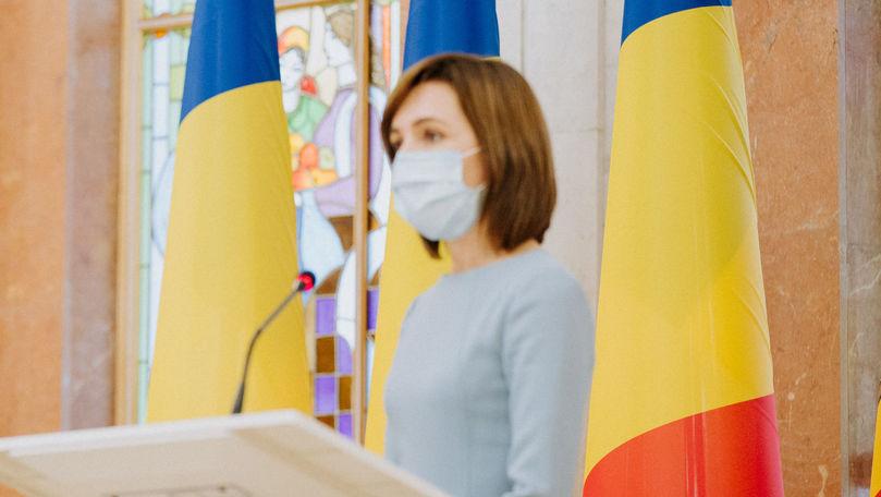 Sandu: Un scop al vizitei la Bruxelles e să asigurăm țara cu vaccin