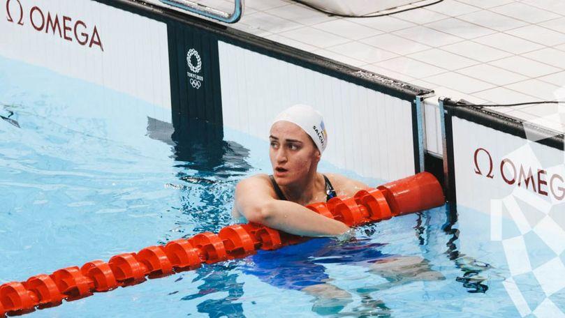Înotătoarea Tatiana Salcuțan revine acasă cu un record pentru Moldova