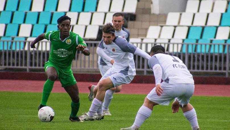 Dinamo-Auto și Petrocub au remizat la Ternovca